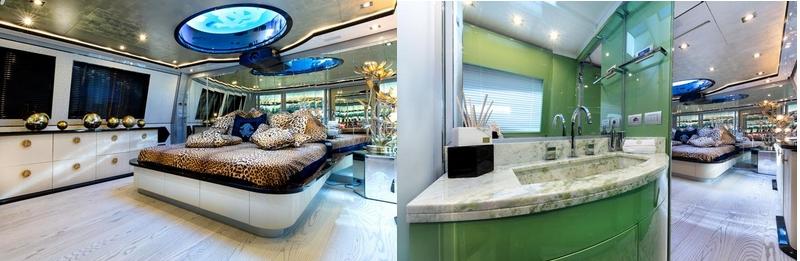 Tommaso Spadolini unveils Roberto Cavalli's new yacht 28m MY Freedom - interior 4