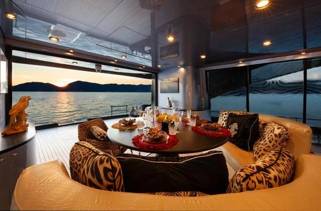 Tommaso Spadolini unveils Roberto Cavalli's new yacht 28m MY Freedom yacht