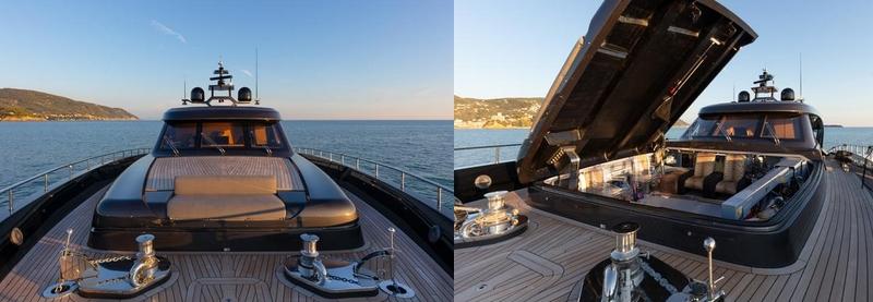 Tommaso Spadolini unveils Roberto Cavalli's new yacht 28m MY Freedom