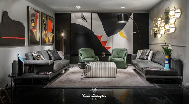 Tonino Lamborghini Casa for Salone del Mobile Collection-