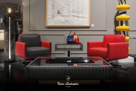 Salone del Mobile 2019: Tonino Lamborghini Casa melts elegance and comfort into timeless items