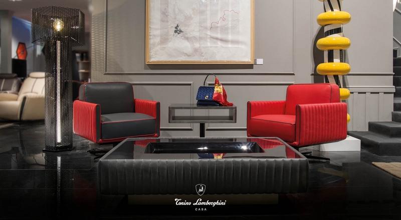 Tonino Lamborghini Casa for Salone del Mobile Collection