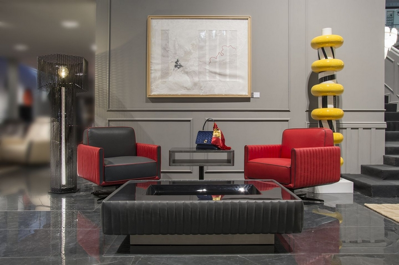 Tonino Lamborghini new furnishings collection at Salone del Mobile Milan 2018