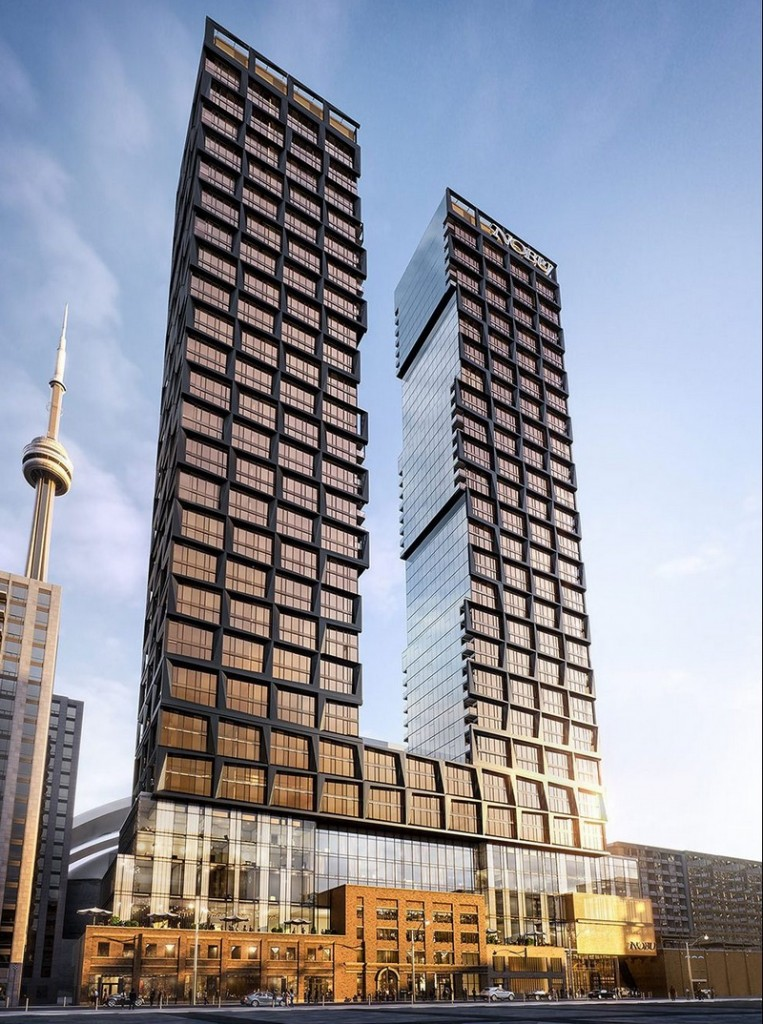 Toronto - First Nobu Residences in the World - exterior