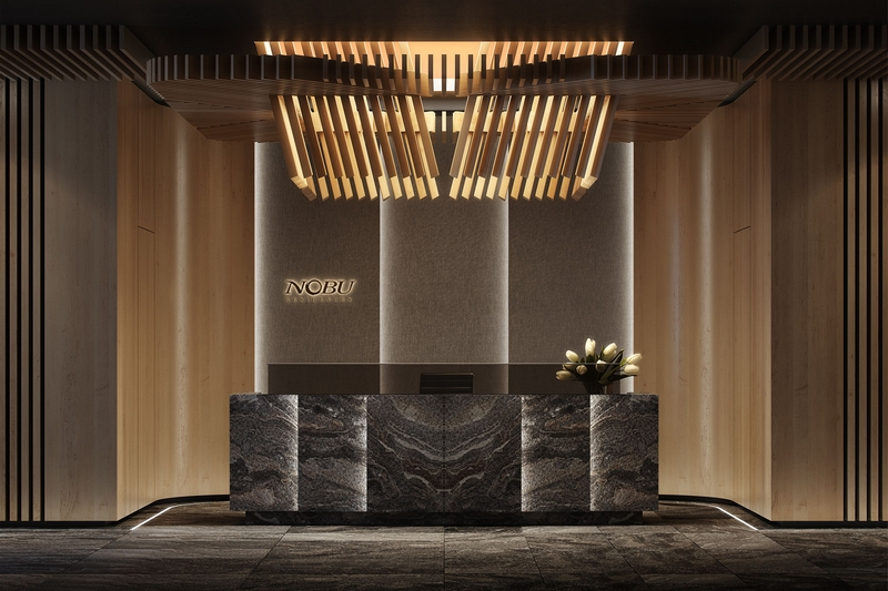 Toronto - First Nobu Residences in the World - lobby