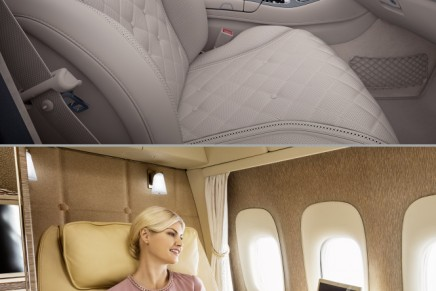 Fly like in the S-Class