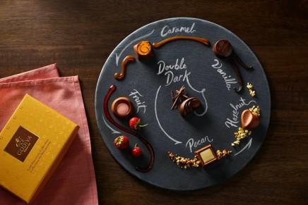 Edible artistry: Love is a hazelnut praliné encased in a heart-shaped milk chocolate shell