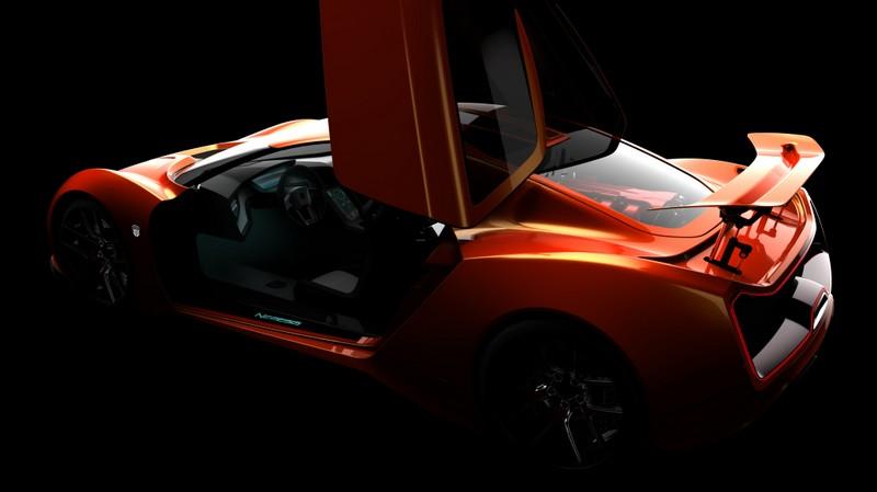 Trion Supercars Nemesis in Orange