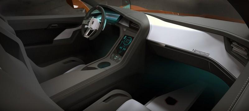 Trion Supercars Nemesis - the interior