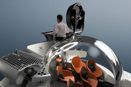 Triton 3300/6 Submarine – the first six-person submersible capable of achieving 1,000m