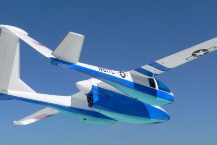 Innovative luxury aircraft prototype Micronautix Triton to give passengers unobstructed panoramic views