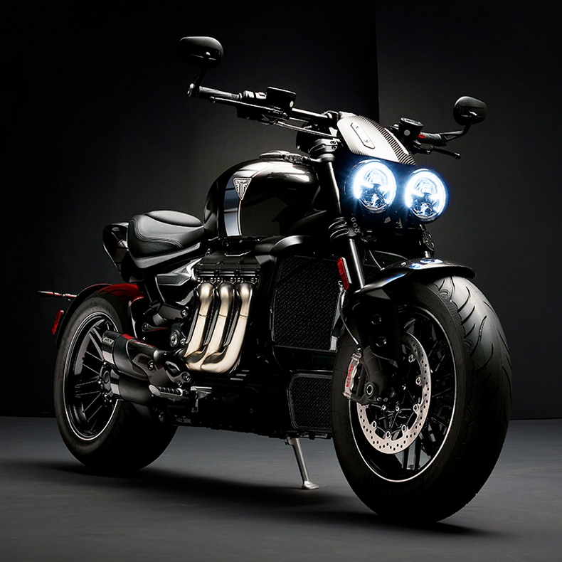 Triumph Rocket TFC concept becomes reality
