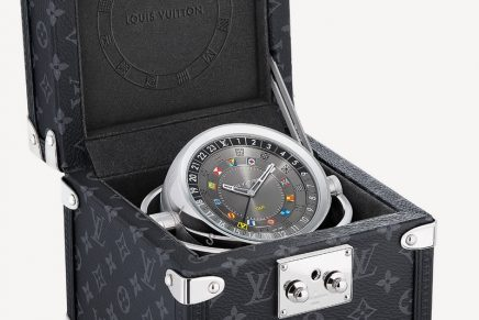All in good time: Navy chronometers inspire the new Louis Vuitton Trunk Table Clock