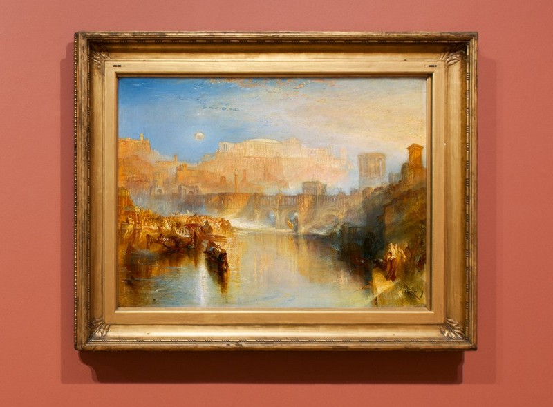 """Turner's Ancient Rome""""1839 painting"""