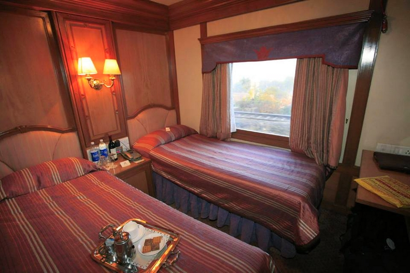 Twin Bed Deluxe Cabin, The Deccan Odyssey