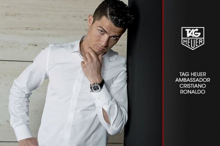 Cristiano Ronaldo & TAG Heuer to make the time our partner