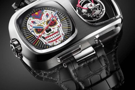 Wearable art: U10 Tourbillon Calavera