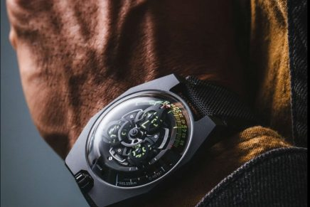 Urwerk UR-100 spacetime watch reminds us that our individual worlds are part of a far greater universe
