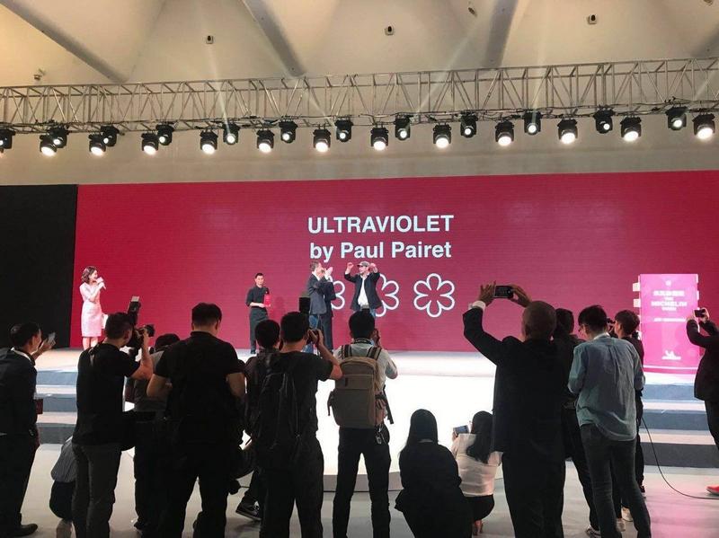 Ultraviolet by Paul Pairet Shanghai winning big