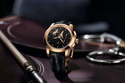 Ulysse Nardin Hourstriker Horse is another example of music and motion telling time in rhythm