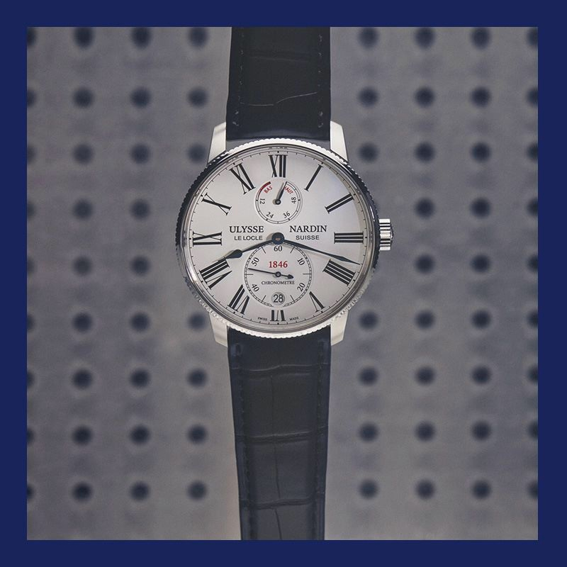 Ulysse Nardin MarineTorpilleur watch