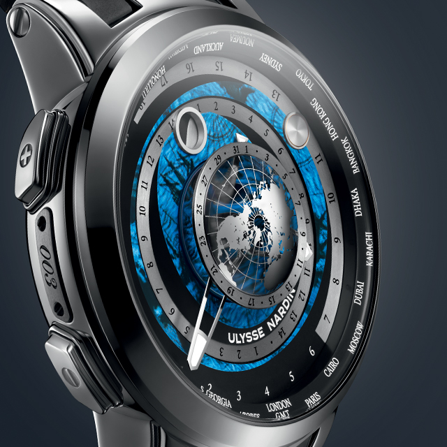 Ulysse Nardin also unveiles The Executive Moonstruck Worldtimer