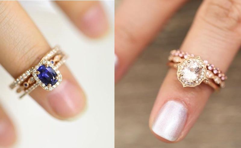 Unique engagement rings have several advantages