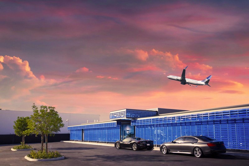 United Airlines announced The Private Suite's terminal on the LAX airfield