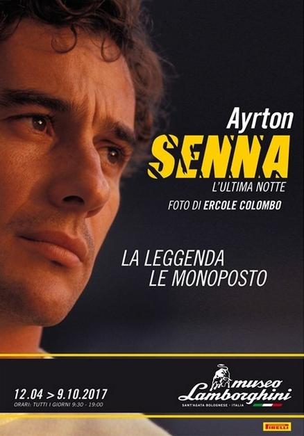 Unmissable Senna at the Lamborghini Museum 2017 - exhibition-