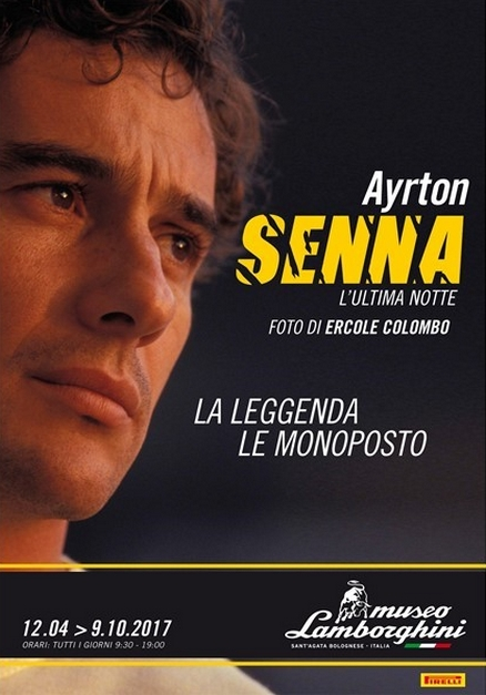 Unmissable Senna at the Lamborghini Museum 2017 - exhibition-