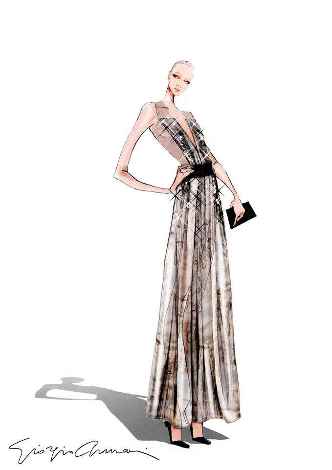 Unveiling a special capsule collection that introduces Giorgio Armani's womenswear to NET-A-PORTER