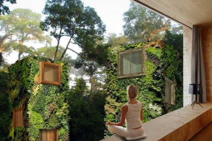 Bright lights, big trees: Dutch designer imagines an 'urban forest'