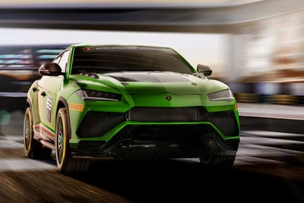 Lamborghini presents first super SUV for racing and new arrive and drive experience in motorsport