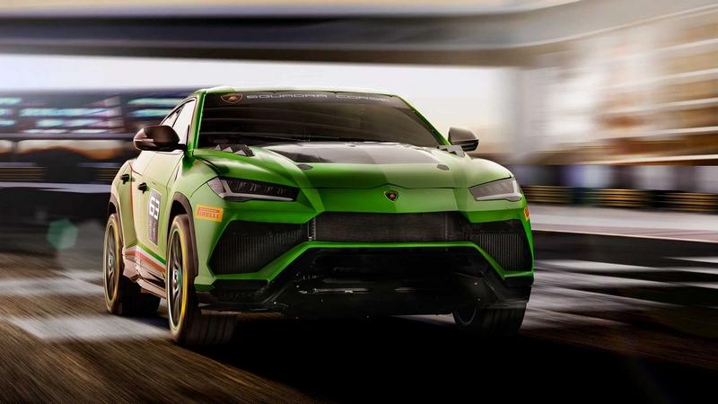 Urus ST-X Concept Lamborghini -