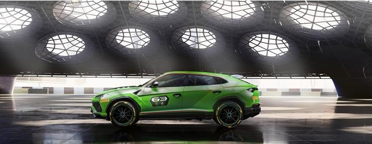 Urus ST-X Concept Lamborghini - lateral