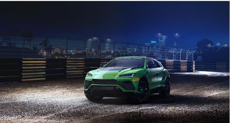 Urus ST-X Concept Lamborghini - racing SUV