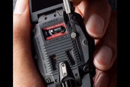 Urwerk UR-220 Falcon Project is sleeker, more ergonomic and as stunning as ever