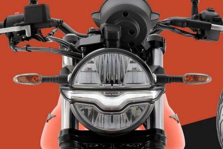 The new high-performance Moto Guzzi V7 demonstrates superior maturity