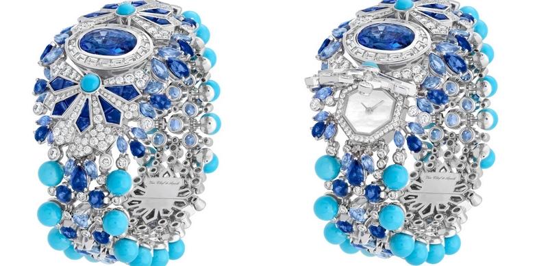 VAN CLEEF & ARPELS JARDIN DE GLACE SECRET WATCH