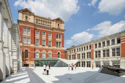 The V&A's £55m new courtyard: 'Like a Marbella beach bar airlifted to South Ken'