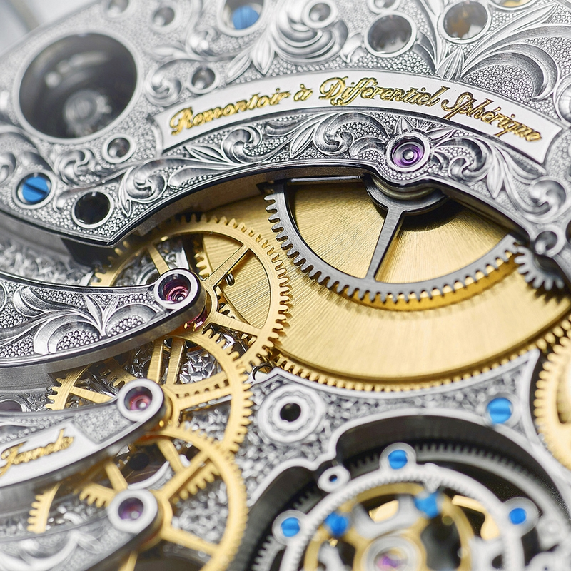 VIRTUOSO VIII is a contemporary celebration of 195 years of artisanal fine watchmaking heritage