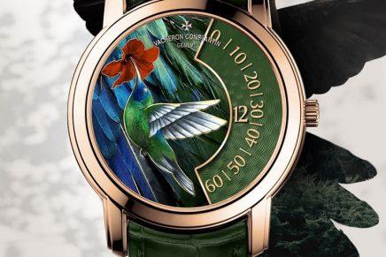 2020 Novelties at Watches & Wonders: Vacheron Constantin Les Cabinotiers – the singing birds