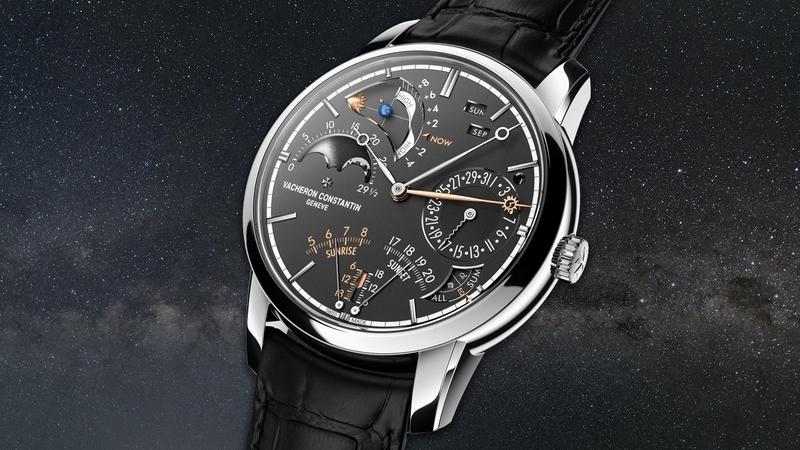Vacheron Constantin Les Cabinotiers Celestia Astronomical Grand Complication 3600 wins the Mechanical Exception Watch -