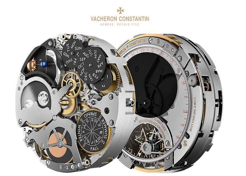 Vacheron Constantin Les Cabinotiers Celestia Astronomical Grand Complication watch mechanism 2017