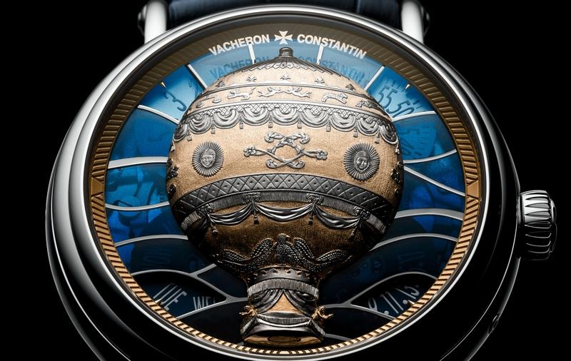 Vacheron Constantin Métiers d'Art Les Aérostiers watch - dial
