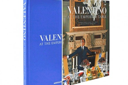 Valentino: At The Emperor's Table. The emperor not only of fashion but also of l'art de vivre