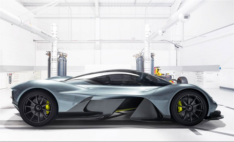 Valkyrie continues a fine tradition of Aston Martin V cars-