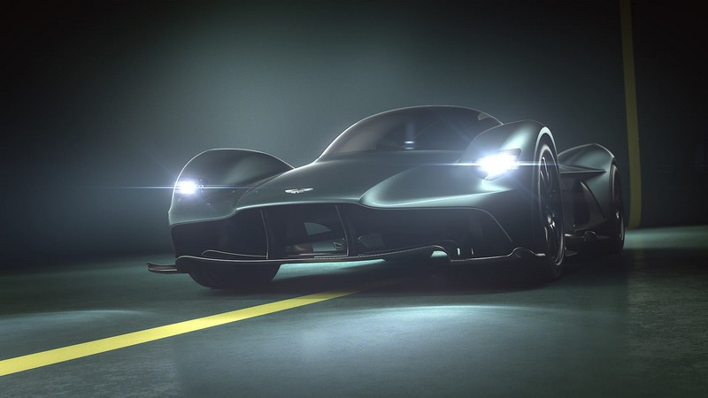 Valkyrie continues a fine tradition of Aston Martin V cars