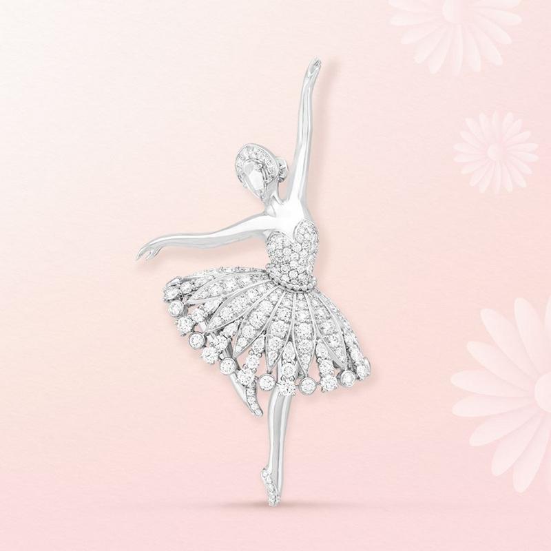 Van Cleef & Arpels' beloved ballerinas