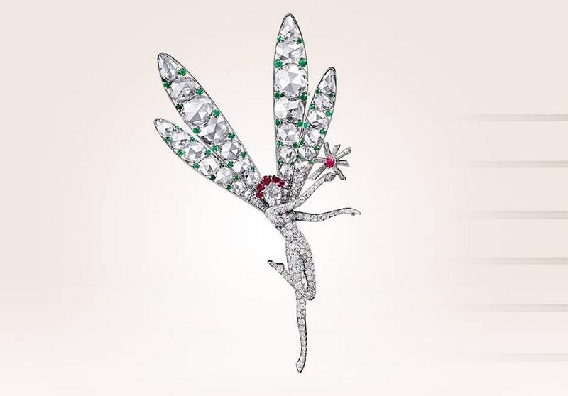 Van Cleef & Arpels' beloved clip - Spirit of Beauty clip